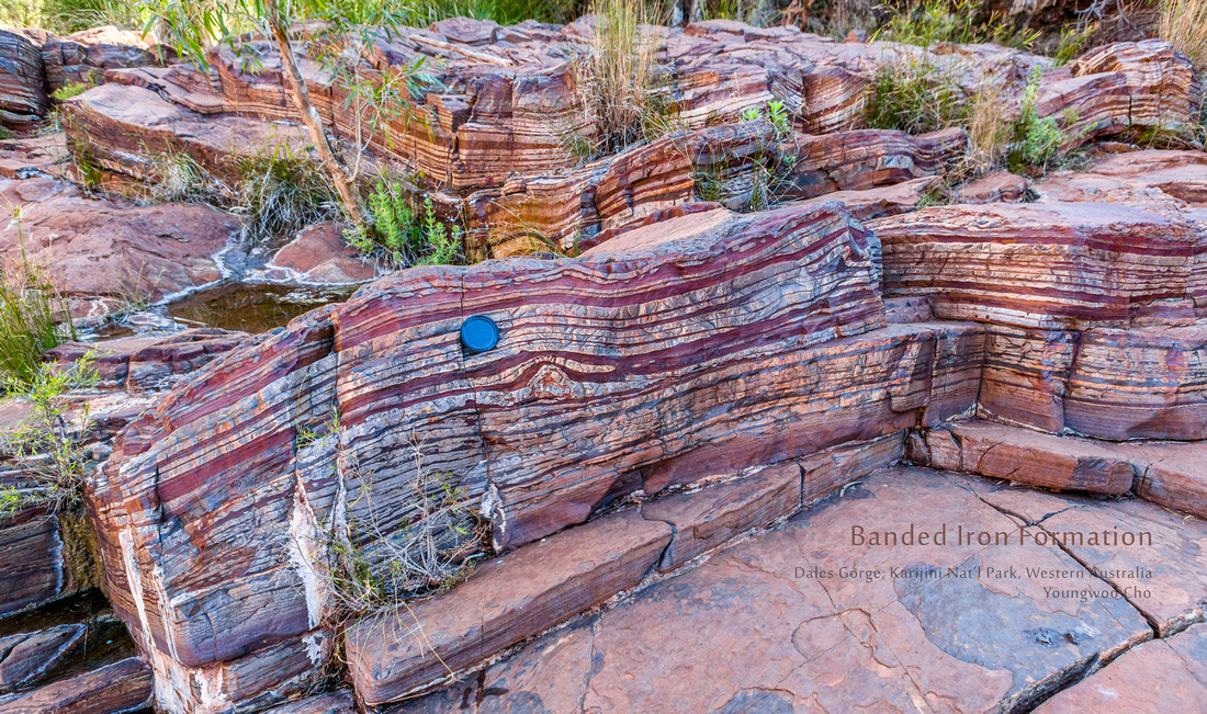 Youngwoo Cho Photography: earthblog_geo_expedition &emdash; Banded Iron Formation