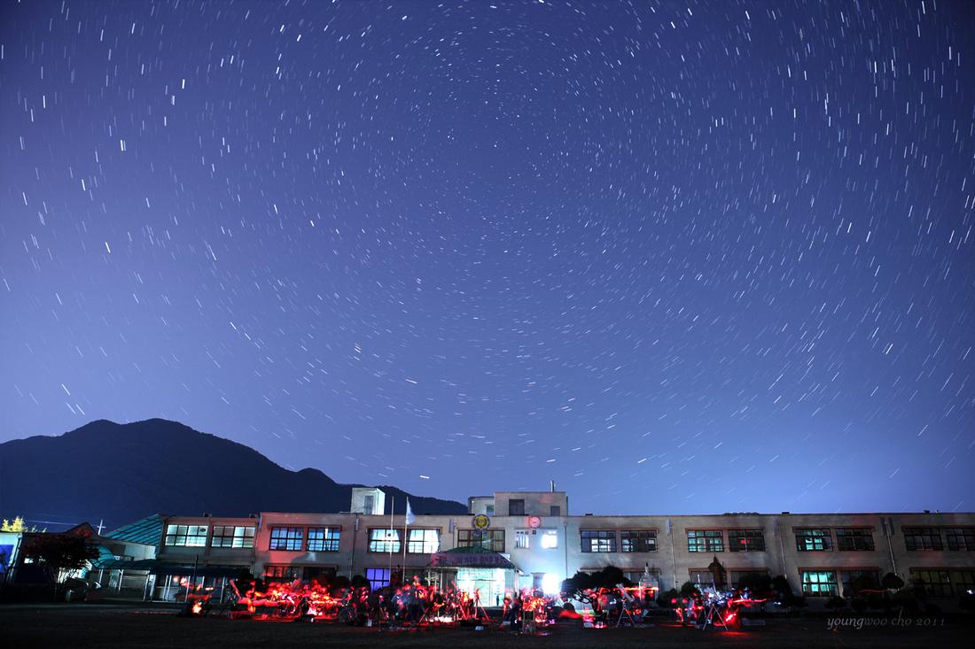 Youngwoo Cho Photography: astro_gallery_nightsky &emdash; 북쪽하늘의 별자취